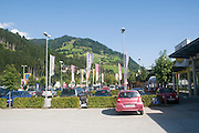 Shopping Centre. Photographed in Austria
