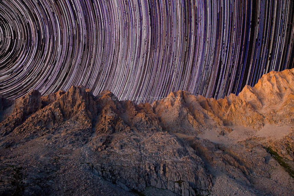 Star Trails at Mt. Darwin