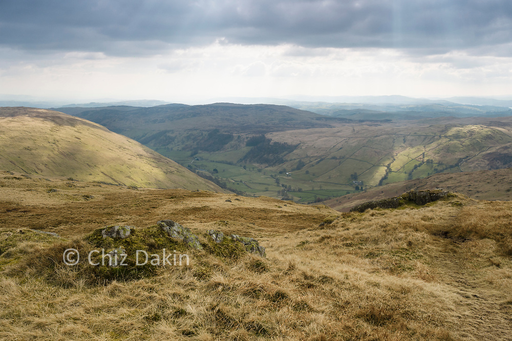 Looking down into Longsleddale reminds you that Crookdale is quite a high valley by comparison!