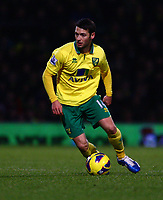 Football - Premier League - Norwich City vs. Sunderland<br /> <br /> <br /> Wes Hoolahan in action for Norwich City at Carrow Road, Norwich