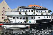 house boat, Copenhagen, Denmark