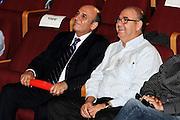 Shaul Mofaz (left) and Eitan Wertheimer (right) May 2009