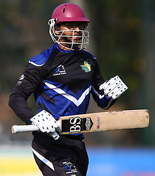 Pietermaritzburg, SOUTH AFRICA 4 September 2016 - Kurtlyn Mannikam of the KwaZulu-Natal Inland during the African Cup T20 game between KwaZulu-Natal Inland and Namibia at the City Oval, Pietermaritzburg, South Africa. Photo by: Steve Haag/ Real Time Images