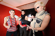 NYC-based band Semi Precious Weapons photographed on November 24, 2008 by music photographer Todd Owyoung.