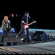 The WHO perform during the NFL Super Bowl 44 between the New Orleans Saints and the Indianapolis Colts on Feb. 7, 2010 at SunLife Stadium in Miami Gardens, Florida. The Saints won the game 31-17. .Photo: Alex Menendez