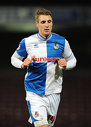 Bristol Rovers' Lee Brown - Photo mandatory by-line: Dougie Allward/JMP - Tel: Mobile: 07966 386802 25/02/2014 - SPORT - FOOTBALL - Scunthorpe - Glanford Park - Scunthorpe United v Bristol Rovers - Sky Bet League Two