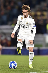 November 27, 2018 - Rome, Rome, Italy - Luka Modric of Real Madrid during the UEFA Champions League match between Roma and Real Madrid at Stadio Olimpico, Rome, Italy on 27 November 2018. (Credit Image: © Giuseppe Maffia/Pacific Press via ZUMA Wire)