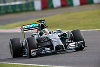 HAMILTON Lewis (Gbr) Mercedes Gp Mgp W05 action during the 2014 Formula One World Championship, Japan Grand Prix from October 3rd to 5th 2014 in Suzuka. Photo Clement Marin / DPPI