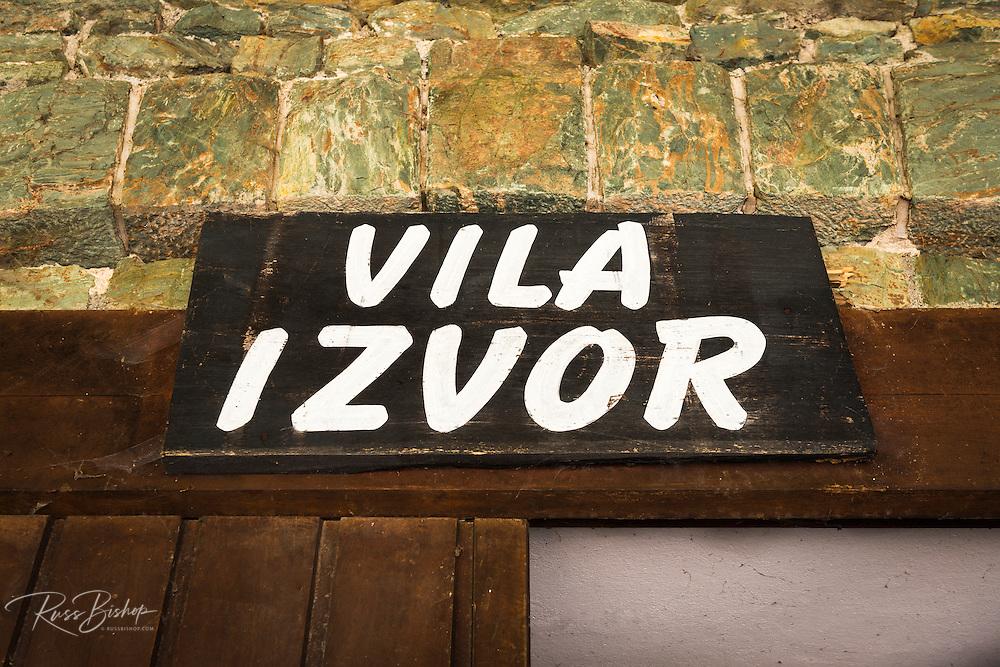 Villa Izvor (ruins of Yugoslavia president Tito's palatial hideaway), Plitvice Lakes National Park, Croatia