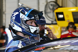 July 13, 2018 - Sparta, Kentucky, United States of America - Martin Truex, Jr (78) hangs out in the garage during practice for the Quaker State 400 at Kentucky Speedway in Sparta, Kentucky. (Credit Image: © Chris Owens Asp Inc/ASP via ZUMA Wire)