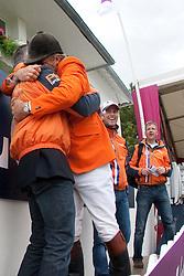 Voorn ALbert (NED), Ehrens Rob (NED)<br /> FEI Nations Cup La Baule 2012<br /> © Dirk Caremans