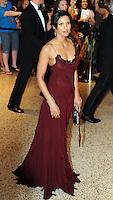 Padma Lakshmi arrives for the White House Correspondents Dinner in Washington, DC
