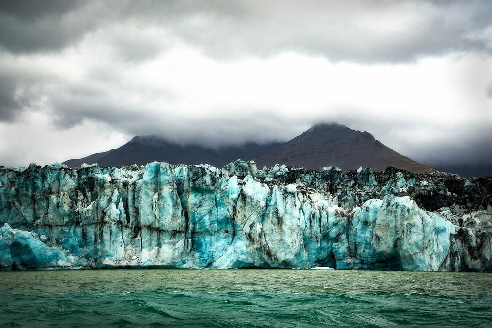 Glacier, Jökulsárlón Lagoon, Iceland
