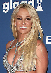 April 12, 2018 - Beverly Hills, CA, U.S. - 13 April 2018 - Beverly Hills, California - Britney Spears. 29th Annual GLAAD Media Awards at The Beverly Hilton Hotel. Photo Credit: F. Sadou/AdMedia (Credit Image: © F. Sadou/AdMedia via ZUMA Wire)