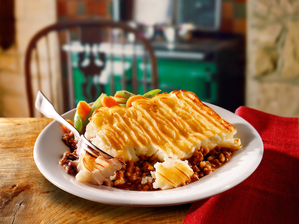 British Food - Shepherds Pie meal