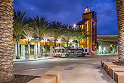 Grossmont Transit Center at Dusk