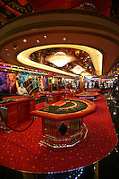 Royal Caribbean International's  Independence of the Seas, the world?s largest cruise ship. ..Interior and exterior features photos...Casino Royal.. *** Local Caption *** Casino Royal..