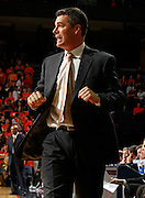 CHARLOTTESVILLE, VA- NOVEMBER 13: Head coach Tony Bennett of the Virginia Cavaliers reacts to a call during the game on November 13, 2011 at the John Paul Jones Arena in Charlottesville, Virginia. Virginia defeated South Carolina State 75-38. (Photo by Andrew Shurtleff/Getty Images) *** Local Caption *** Tony Bennett