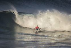 October 12, 2017 - Matt Wilkinson (AUS)  Placed 1st in Heat 3 of Round One at Quiksilver Pro France 2017, Hossegor, France..Quiksilver Pro France 2017, Landes, France - 12 Oct 2017 (Credit Image: © WSL via ZUMA Press)
