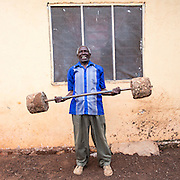 Mr Abdul Issa Makolela head of the host home that houses 2 volunteers from the ICS VSO group staying in Lindi, Lindi region. Tanzania.