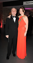 RAFI & JO MANOUKIAN at The Love Ball hosted by Natalia Vodianova and Lucy Yeomans to raise funds for The Naked Heart Foundation held at The Round House, Chalk Farm, London on 23rd February 2010.