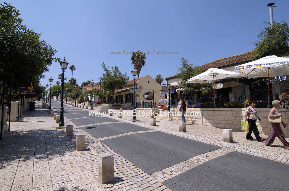 The historic street, now a pedestrian street, Zikhron Ya'aqov Israel, Zihron Yaaqov; also Zichron Yaakov (meaning Jacob's memorial) was established 1882 on Mount Carmel, by pioneers from Romania, members of Hovevei Zion movement. In 1883 Baron Edmond James de Rothschild became the patron of the new settlement. The place was named in memory of his father, James (Jacob) Mayer de Rothschild. In 1885 Rothschild helped to establish the first winery in the country in Zikhron Ya'aqov.