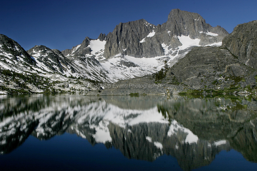 Mt. Ritter and Mt. Banner