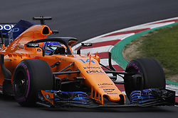 February 26, 2018 - Barcelona, Catalonia, Spain - February 26, 2018 - Circuit de Barcelona-Catalunya, Montmelo, Spain - Formula One preseason 2018; Fernando ALONSO from Spain of Team McLaren-Honda, McLaren MCL33 Renault R.E. 18. (Credit Image: © Eric Alonso via ZUMA Wire)