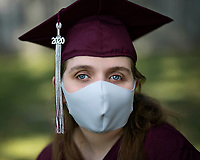 high school graduation photos 2020 Columbia, South Carolina photo by Catherine Brown