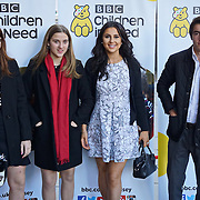 London,England,UK 2015 : Guests arrives for Terry Wogan's Gala Lunch for Children In Need at the Landmark Hotel on November 01, 2015 in London, England. Photo by See Li
