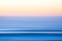 Blurred lines. Pacific Ocean.
