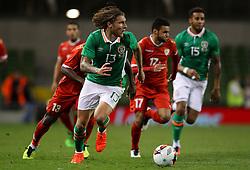 Jeff Hendrick in action for Ireland - Mandatory by-line: Ken Sutton/JMP - 31/08/2016 - FOOTBALL - Aviva Stadium - Dublin,  - Republic of Ireland v Oman -