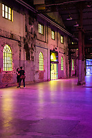CARRIAGEWORKS ,Sydney UNVEIL LARGE-SCALE ARTWORKS <br /> PRESENTED FREE TO THE PUBLIC <br /> New works by leading Australian artists employ light as a medium to explore our basic interconnectivity as humans<br /> <br /> Rebecca Baumann: Radiant Flux Spanning over one-hundred metres in length, Baumann will cover every glass surface of the Carriageworks exterior and skylights in dichroic film, a dynamic material that shifts colour when viewed from different angles and transmits the opposite chromatic spectrum to what it reflects. The result will be a spectacular immersion into a kaleidoscopic world of colour and light that responds continuously to the environmental conditions around it.