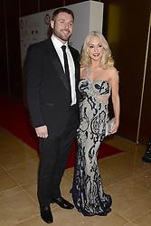 Kristina Rihanoff and Ben Cohen arrive at the London Critics' Circle Film Awards at the May Fair Hotel in London.