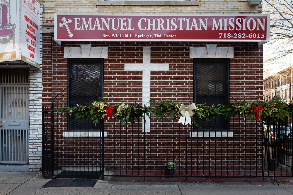 Emanuel Christian Mission, Flatbush Ave.; entrance on Hawthorne St.
