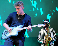 Sam Fender live on stage at the Isle of Wight Festival, Newport, IOW photo by Dawn Fletcher -Park