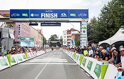 Finish area in Murska Sobota during 1st Stage of 25th Tour de Slovenie 2018 cycling race between Lendava and Murska Sobota (159 km), on June 13, 2018 in  Slovenia. Photo by Vid Ponikvar / Sportida