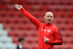 Manchester United coach Nicky Butt