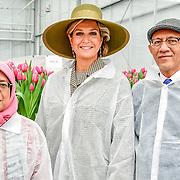 20181122 Maxim + bezoekenk aan Horticultural Centre