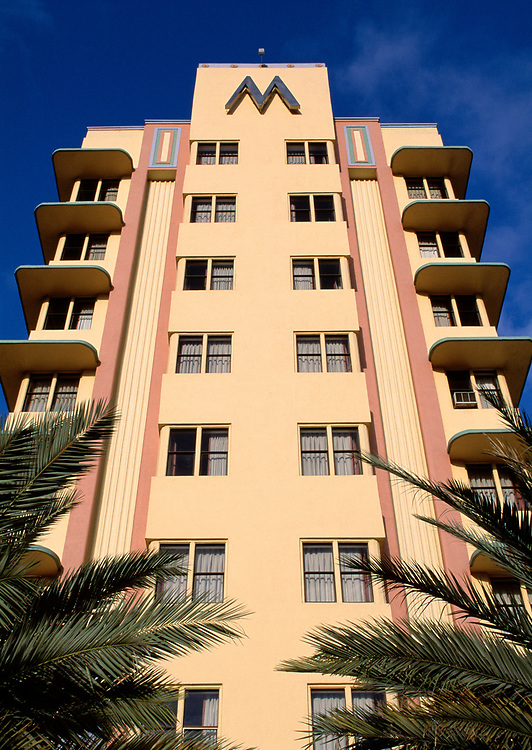 M Hotel, the deco district, South Beach, Miami, Florida