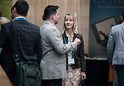 Mary Hannes from Golden Angels Investors at the Wisconsin Entrepreneurship Conference at Venue 42 in Milwaukee, Wisconsin, Tuesday, June 4, 2019.