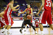 Former West Mesquite point guard Braylon Rayson #2 drives to the basket for the North team during the 2013 THSCA All-Star Basketball Game at Daniel - Meyer Coliseum in Fort Worth on Monday, July 29, 2013. (Cooper Neill/Special Contributor)
