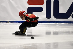 February 8, 2019 - Torino, Italia - Foto LaPresse/Nicolò Campo .8/02/2019 Torino (Italia) .Sport.ISU World Cup Short Track Torino - 5000 meter Men Relay Quarterfinals.Nella foto: Shuai Yang..Photo LaPresse/Nicolò Campo .February 8, 2019 Turin (Italy) .Sport.ISU World Cup Short Track Turin - 5000 meter Men Relay Quarterfinals.In the picture: Shuai Yang (Credit Image: © Nicolò Campo/Lapresse via ZUMA Press)