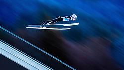 31.12.2016, Olympiaschanze, Garmisch Partenkirchen, GER, FIS Weltcup Ski Sprung, Vierschanzentournee, Garmisch Partenkirchen, Qualifikation, im Bild Andreas Wellinger (GER) // Andreas Wellinger of Germany during his Qualification Jump for the Four Hills Tournament of FIS Ski Jumping World Cup at the Olympiaschanze in Garmisch Partenkirchen, Germany on 2016/12/31. EXPA Pictures © 2016, PhotoCredit: EXPA/ JFK