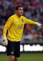 Photo: Daniel Hambury.<br />Manchester United v FC Porto. Amsterdam Tournament. <br />04/08/2006.<br />Manchester's Ben Foster.