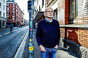 Guenter Wallraff portraitiert in der Langstrasse in Zuerich am 15. Januar 2018.<br />Photo Siggi Bucher
