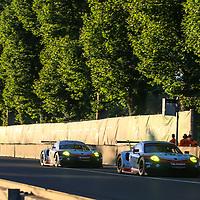 #91, Porsche Motorsport, Porsche 911 RSR (2017), driven by: Richard Lietz, Frederic Makowiecki, Patrick Pilet, #92, driven by: Michael Christensen, Kevin Estre, Dirk Werner, 24 Heures Du Mans 85th Edition, 17/06/2017,