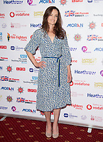 Keavy Lynch at the Sapper Support celebrity charity event for the launch of their brand-new PTSD support lanyard at The Army & Navy Club, London