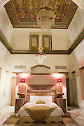 A bedroom in the Al Pasha boutique hotel on Straight Street, Damascus, Syria