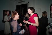 DRUSILLA BEYFUS; NICKY SHULMAN, Can we Still Be Friends- by Alexandra Shulman.- Book launch. Sotheby's. London. 28 March 2012.